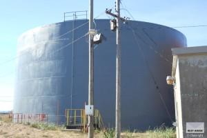 cold galvanizing cathodic protection silos